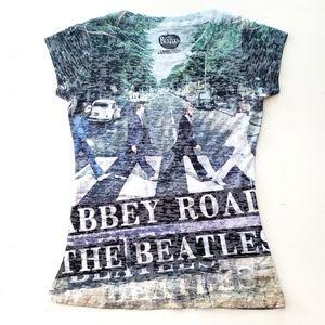 The Beatles | Abbey Road Burnout T-Shirt